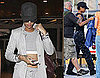 Pictures of Rihanna Getting on Board Battleship in Hawaii