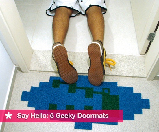 5 Geeky Doormats