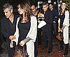 Pictures of George Clooney and Elisabetta Canalis Out to Dinner in LA