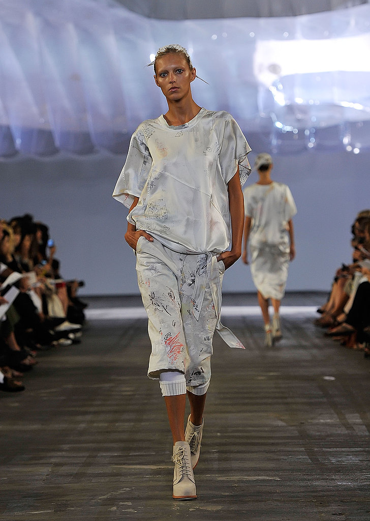 "Alexander Wang Ditches the Black ""Uniform,"" Goes Light for Spring 2011"