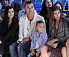 Slide Picture of Kingston and Gavin Rossdale at Edun Show During New York Fashion Week