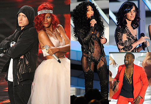 Fotos von den MTV Video Music Awards 2010 mit Eminem, Usher, Mary J Blige, Rihanna, Lady Gaga, Taylor Swift