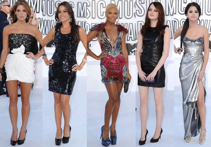 2010 VMA Awards Best Dressed