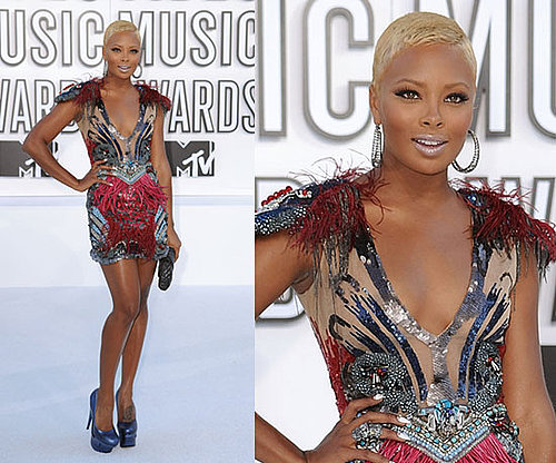 Eva Marcille at 2010 MTV VMAs