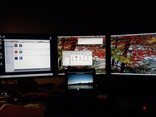 Just not enough monitors