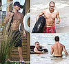 Shirtless Ryan Phillippe and Mark Salling in Puerto Rico for Hollywood Domino Tournament