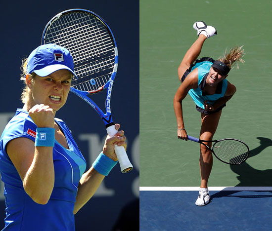 Photos of Female Tennis Players at 2010 US Open