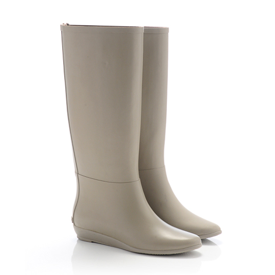 Rain Boot in Taupe, $195