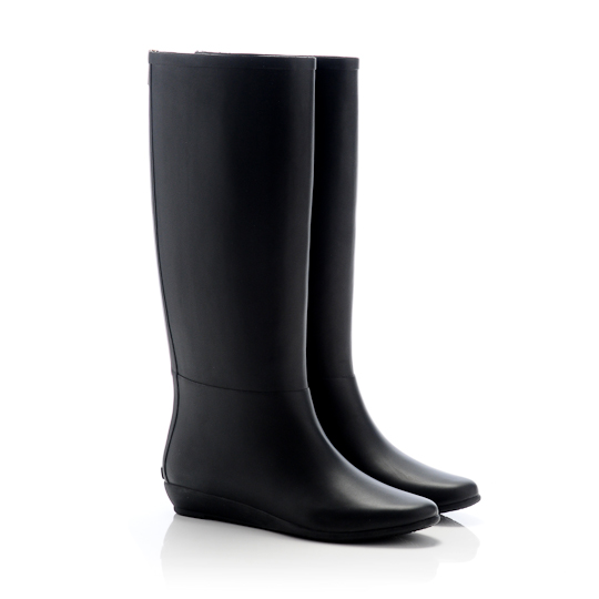 Rain Boot in Black, $195