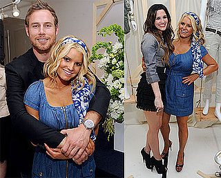 Pictures of Jessica Simpson With Eric Johnson at the Launch of Her New Collection 2010-09-08 06:00:00