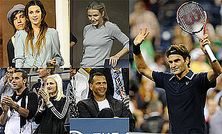 Pictures of Gwen Stefani, Gavin Rossdale, Ashlee Simpson, and Cameron Diaz at the US Open Finals in NYC