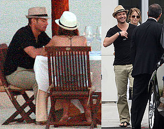 Pictures of Ryan Seacrest Wining and Dining Julianne Hough in Mexico