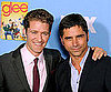 Slide Picture of John Stamos and Matthew Morrison at Glee Season 2 Premiere