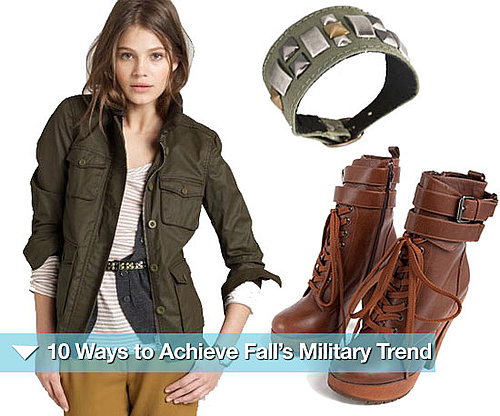 How to Wear the Military Trend For Fall 2010