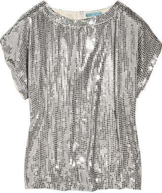 Alice + Olivia Sequin Tee