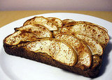 Warm Apple Whole Wheat Toast