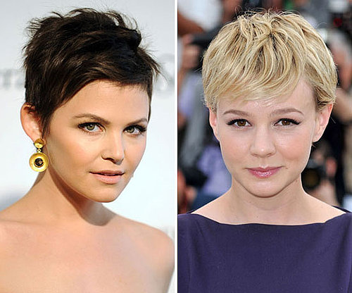 Celebrities With Pixie Crops and Short Hair including Carey Mulligan and Emma Watson