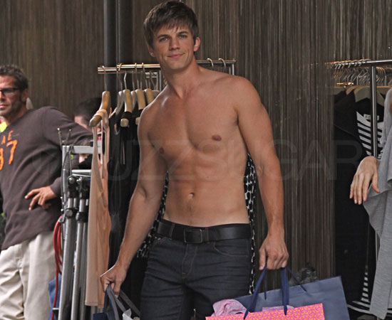 Shirtless Shopper