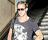 Slide Picture of Ryan Gosling Leaving LAX