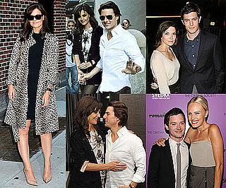Pictures of Katie Holmes and Tom Cruise Kissing at the NYC Premiere of The Romantics