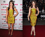 Photos of Ashley Greene and Hayley Atwell in D&G Polka Dot Dress
