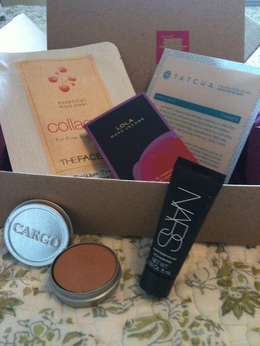 My first Birchbox has arrived!!