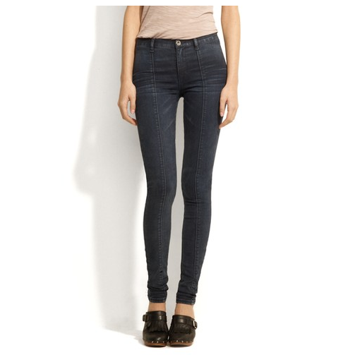Alexa Chung for Madewell Pamela High-Rise Jeans in Abrasion Wash ($125)