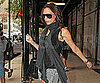 Slide Picture of Victoria Beckham Leaving Her NYC Hotel