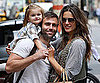Slide Picture of Alessandra Ambrosio With Jamie and Anja Mazur in NYC