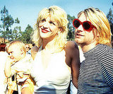 Courtney Love and Kurt Cobain brought their young daughter Frances Bean to the red carpet in 1993.