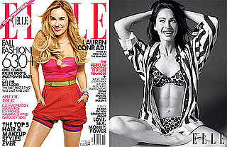 Pictures of Megan Fox's Abs, Lauren Conrad on the Cover of October 2010 Elle Magazine 2010-09-09 10:00:00
