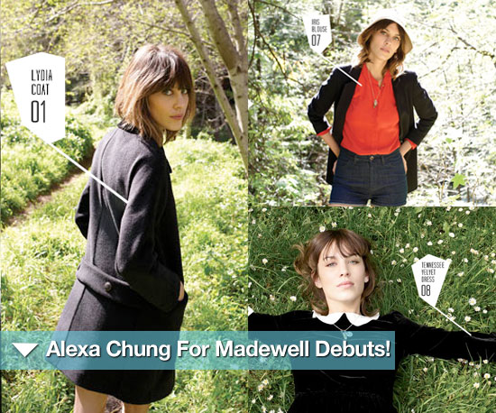 Alexa Chung For Madewell Collection