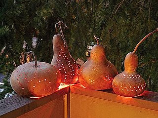 How to Make Halloween Gourd and Pumpkin Lanterns