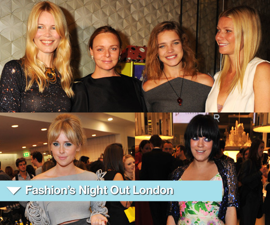 Photos of Celebrities at London's Fashion's Night Out 2010 2010-09-09 01:41:24