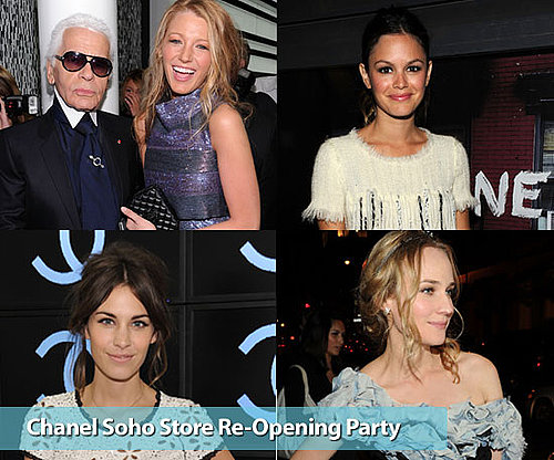 50 Celeb Snaps from the Chanel SoHo Re-Opening Party including Rachel Bilson, Alexa Chung and More!