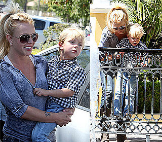 Pictures of Britney Spears and Jayden James in LA