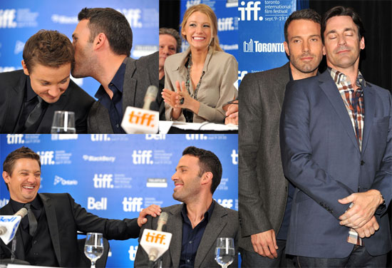 Pictures of Ben Affleck, Blake Lively, Jon Hamm, Jeremy Renner at Toronto Film Festival