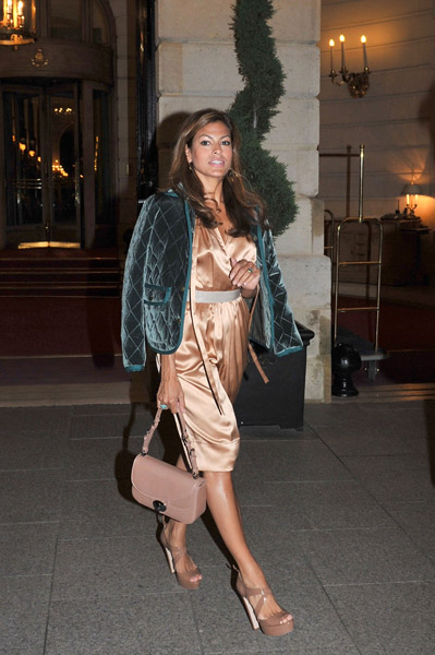 Eva Mendes in Paris — does it get any classier than that?