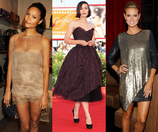 This Week's Fab Favorites: Thandie Newton, Heidi Klum