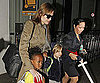 Picture Slide of Angelina Jolie at LAX 2010-08-20 09:15:00
