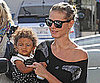 Picture Slide of Heidi Klum With Daughter Lou Samuel in LA