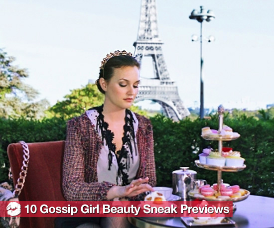 10 Gossip Girl Beauty Sneak Peeks