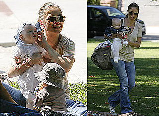 Pictures of Rebecca Gayheart and Billie Dane on a Playdate in LA 2010-09-14 04:00:00