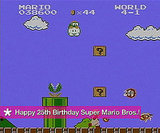 Super Mario Bros. 25th Birthday