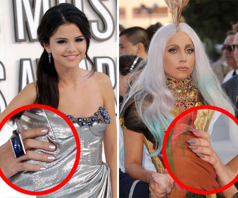 The Mad Manis and Neutral Nails of the 2010 MTV VMAs