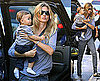 Pictures of Gisele Bundchen and Benjamin Brady in NYC