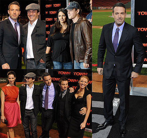 Pictures of Ben Affleck, Matt Damon, Blake Lively, Jon Hamm at Fenway Park Premiere of The Town