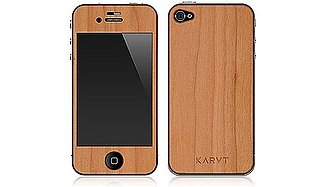 Karvt Wooden iPhone Skins