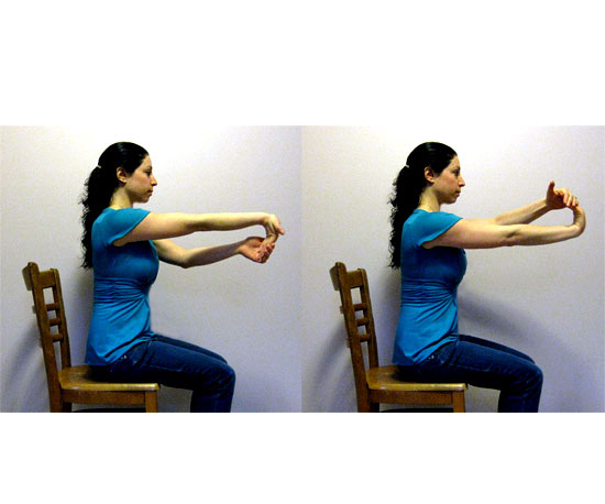 One-Arm Assisted Wrist Stretch