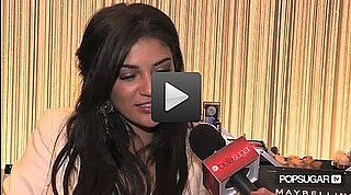 Jessica Szohr Interview at Spring 2011 New York Fashion Week 2010-09-13 15:17:17